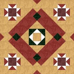 мозаика плитками нестандартной формы