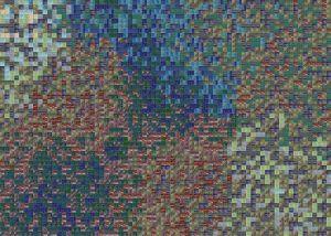генерация псевдослучайных наборов цветов палитры мозаики