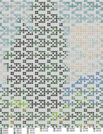 Схема вышивки узора бисером с собственным ажурным рисунком