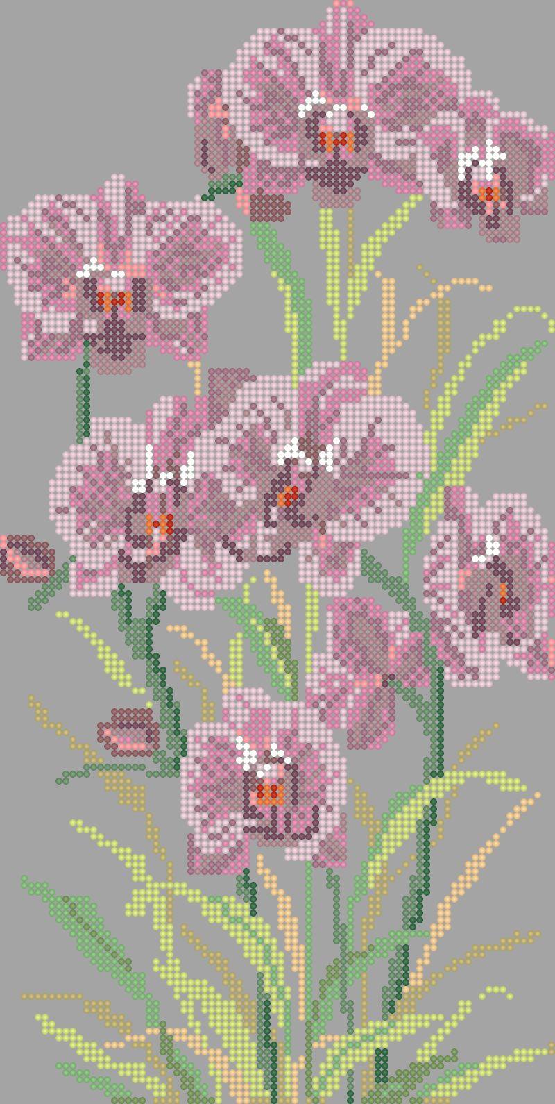 Вышить бисером цветок