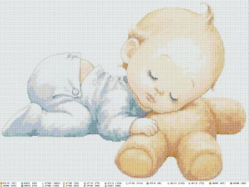 Design 'Child, , created in the software 'BeadCreatorArt'